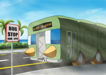 Charjabug, the Bus-Type Pokemon