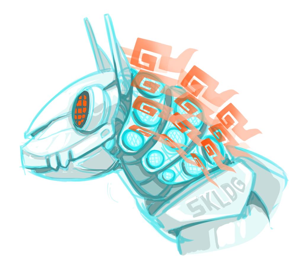 Headshot - Robo Skulldog