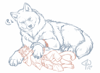 Giant Wolf Paw
