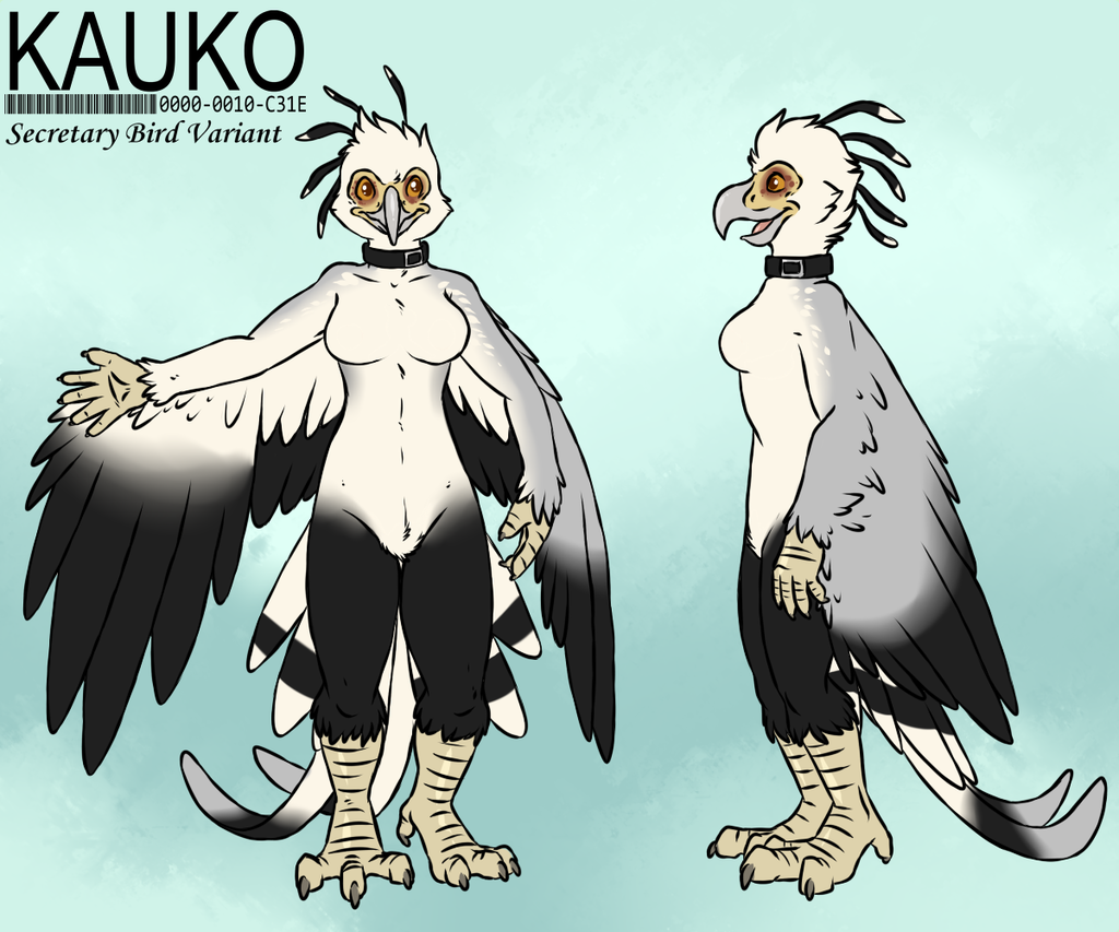 Kauko: Secretary Bird Variant [Clean] by Aggrobadger