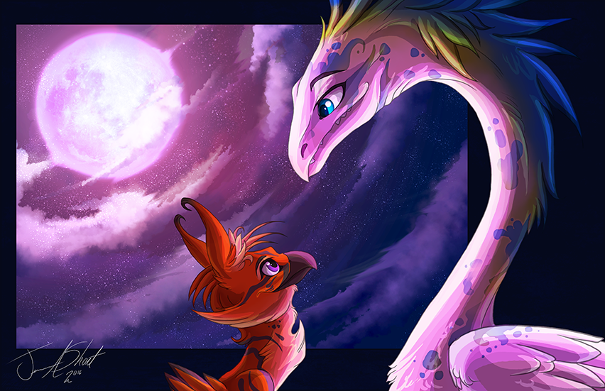 Nazari and Evergreen ~ Color Test 2