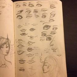 Eye and Lip Practice