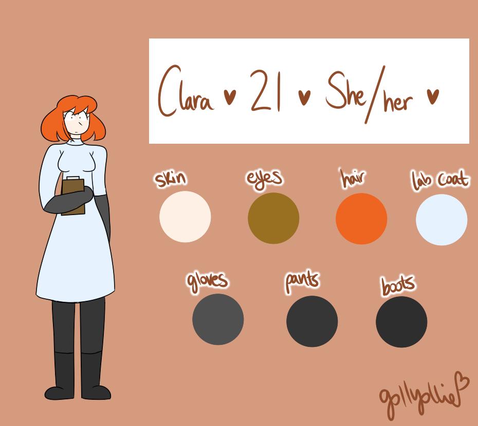 [OC Ref] Clara
