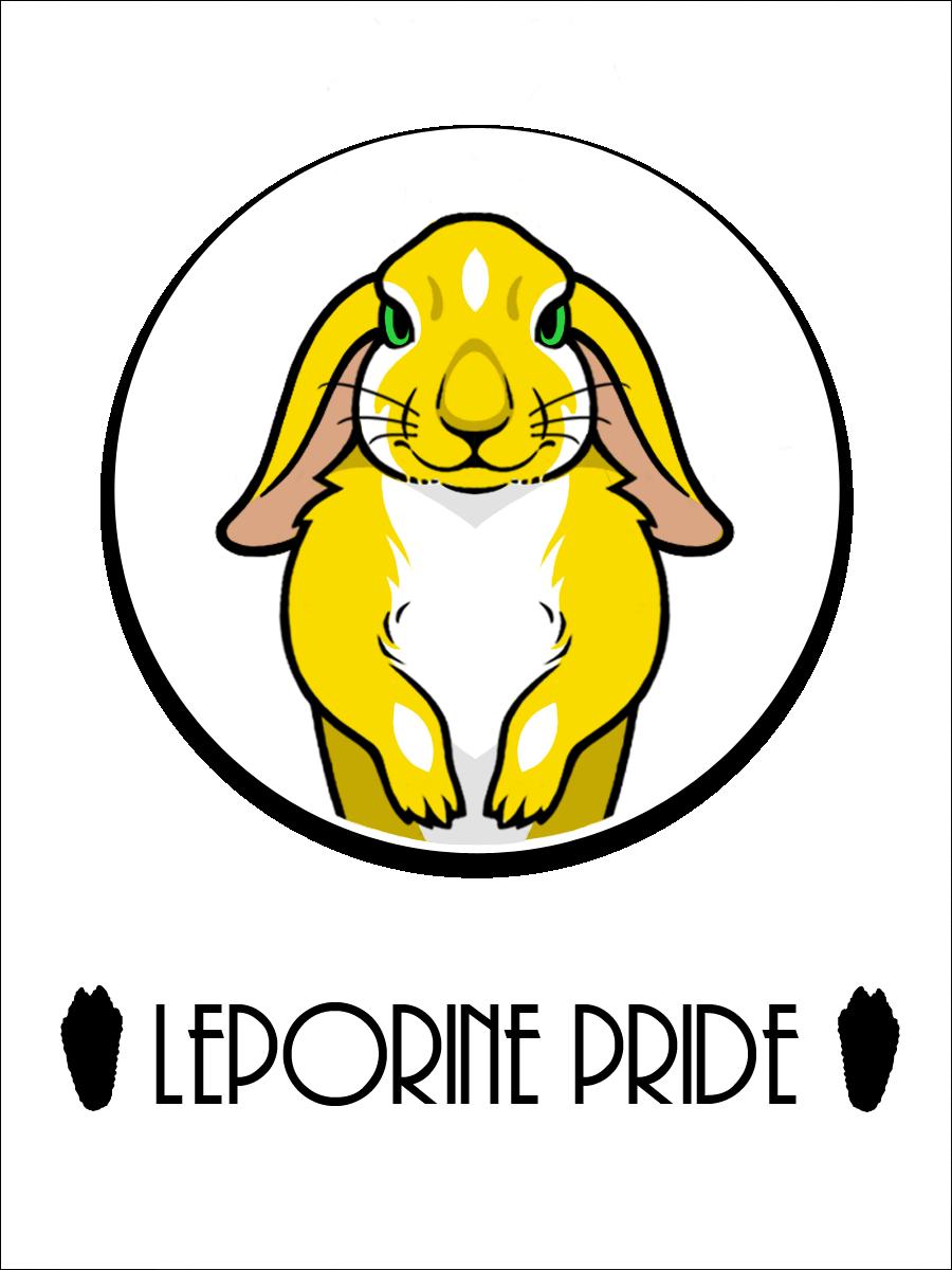 Bun Bun Pride Badge