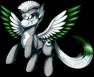Commission: Lunar Pony