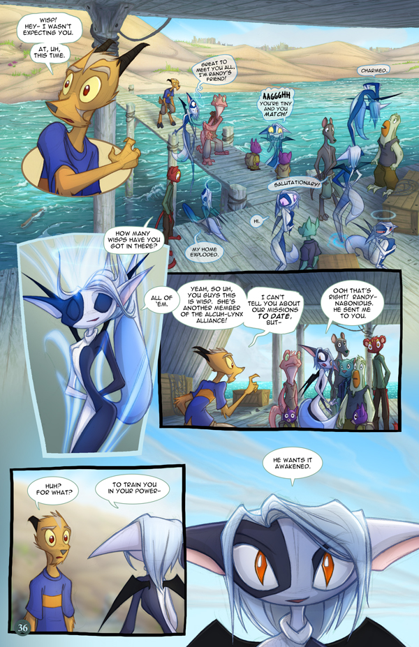 Most recent image: Dreamkeepers Saga page 354
