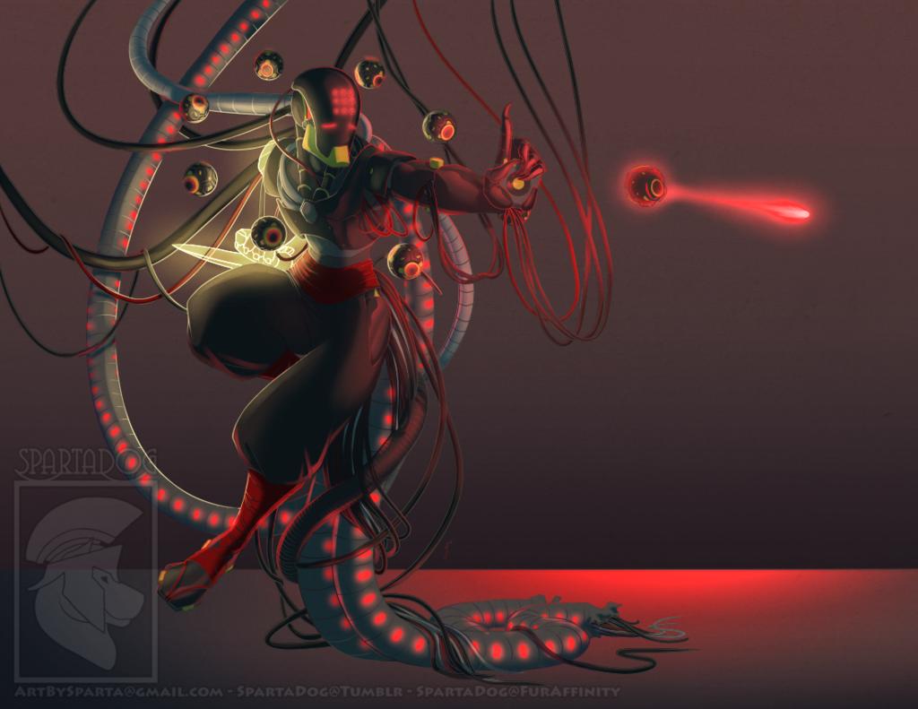 Commission - Talon!Zenyatta