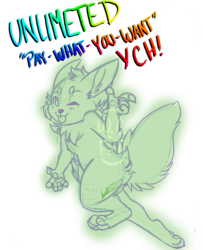 """UNLIMITED """"Pay What You Want"""" Chibi YCH!"""