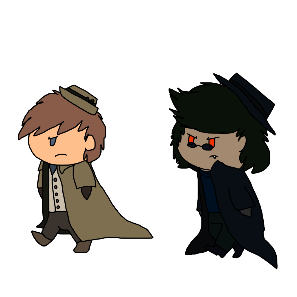 Chibi Ben and Di (Dated) (ca.2014)