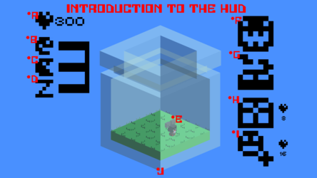 Blocky Buddies Intro to the HUD