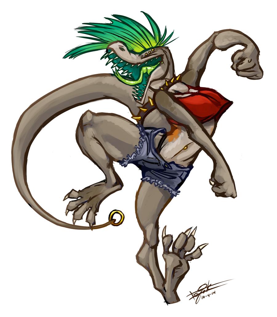 Komodo Dragons Disregard Anatomy — Weasyl
