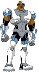 Cyborg Standing openning
