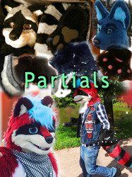 Commissions - partial fursuits