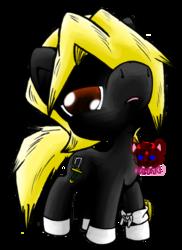 chibi ponies #2:  izuru (fan-pony)