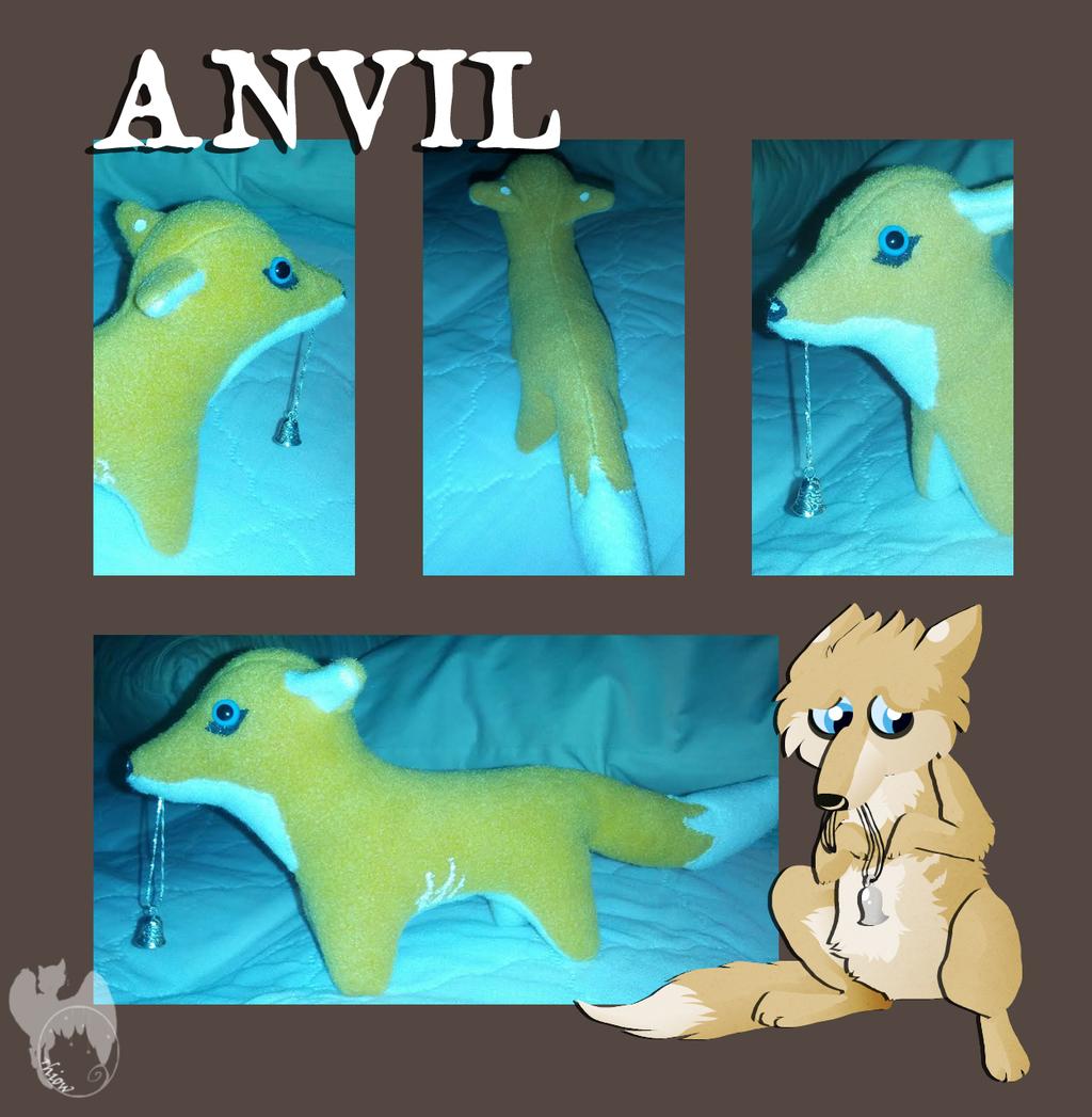Anvil Plushie