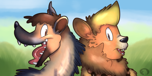 Hyena and Lion Double Icon TF