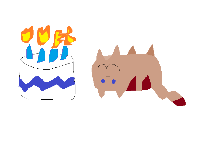 Low effort birthday pic