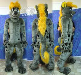 Sharpie Hyena-Wolf Fursuit