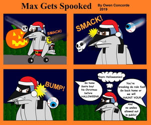 Max Gets Spooked