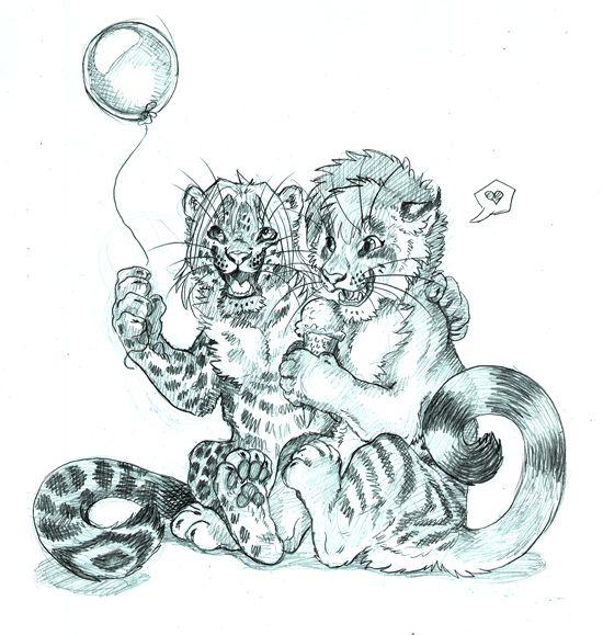 Balloons and Ice Creams - by Balaa