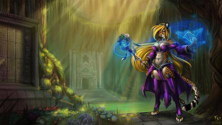 Feline Sorceress