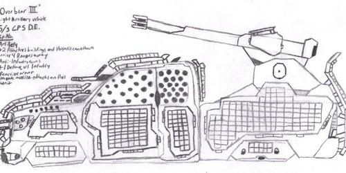 """DE Light Artillery """"Overbear III"""""""