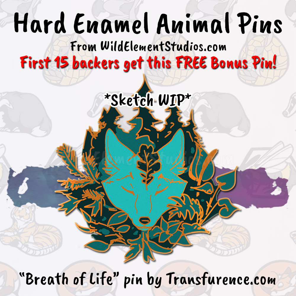 Early Backer Bonus Pin
