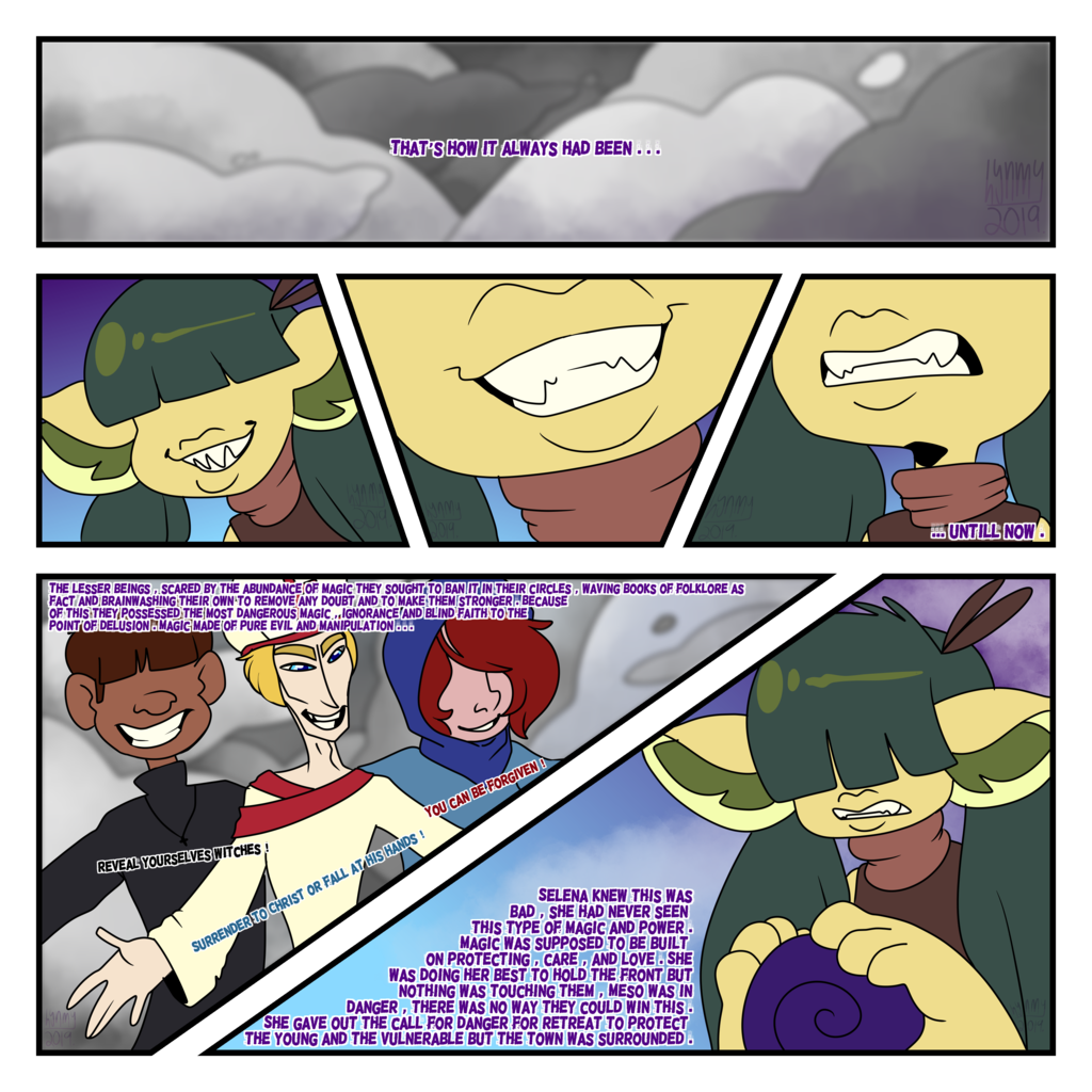 Most recent image: Esoterians Chapter 1 Page 2
