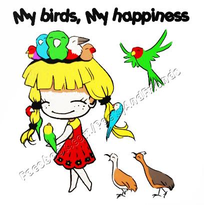 My Birds My Happiness Weasyl