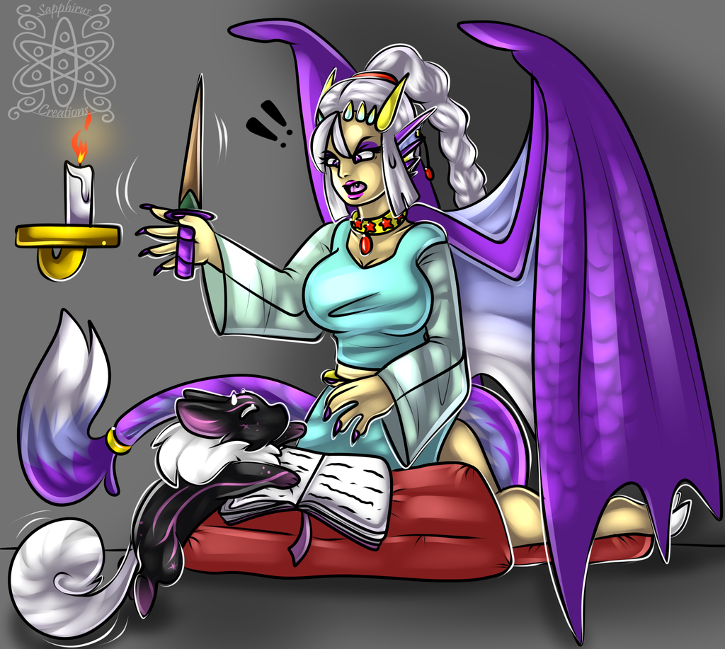 Spell casting distractions +Shaded commission+