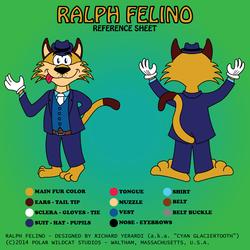 Ralph Felino Reference Sheet (Revised)