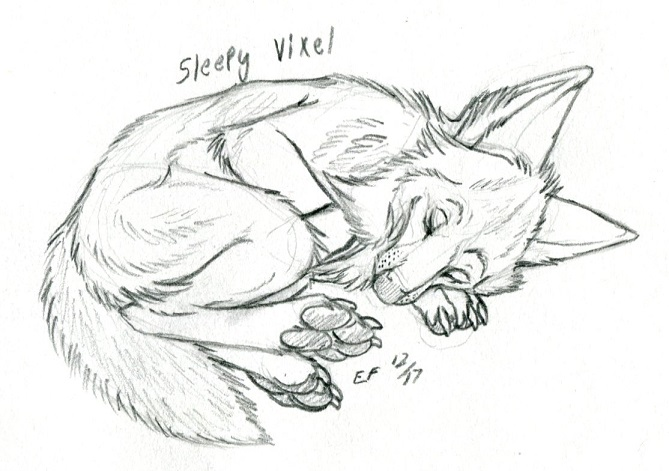 Vixel Sketch Com Sleepy