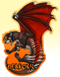 Badge- DrakonicKnight