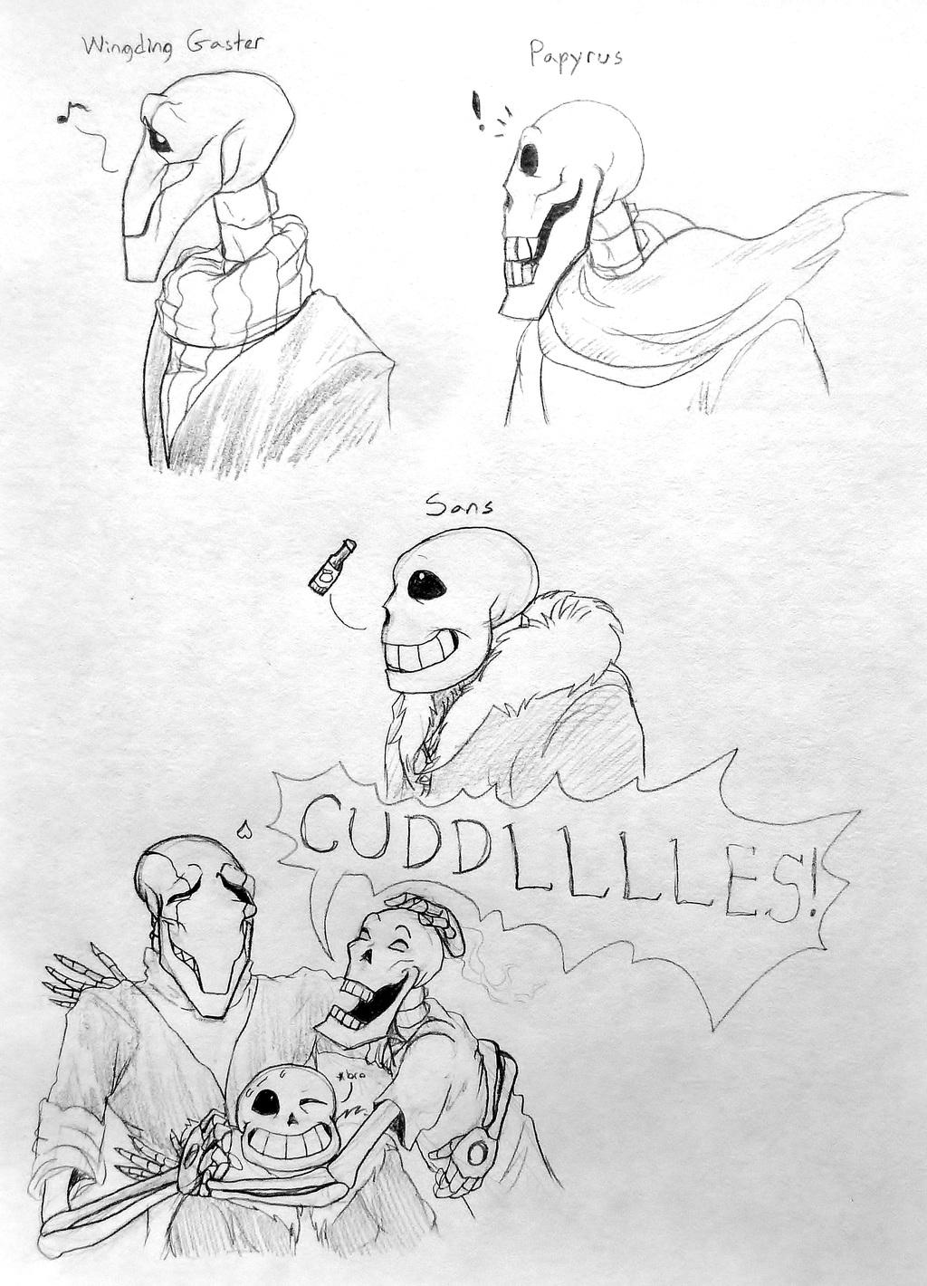 Skelefam Sketches