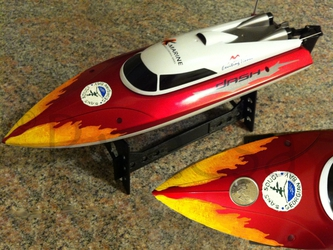 Small remote control boat