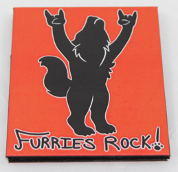 Furries Rock Magic Wallet