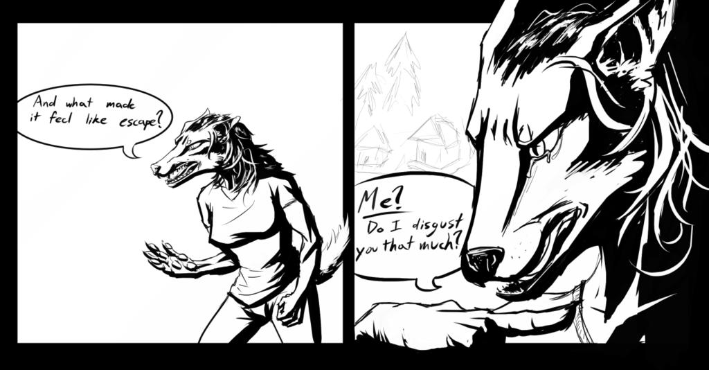 Comic Inking Practice