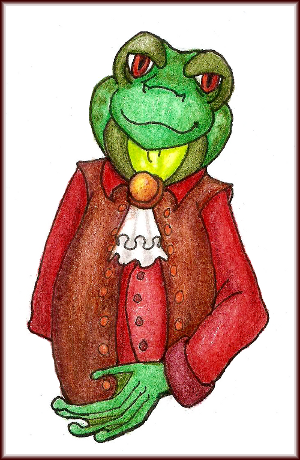 [Commission] Noble Frog