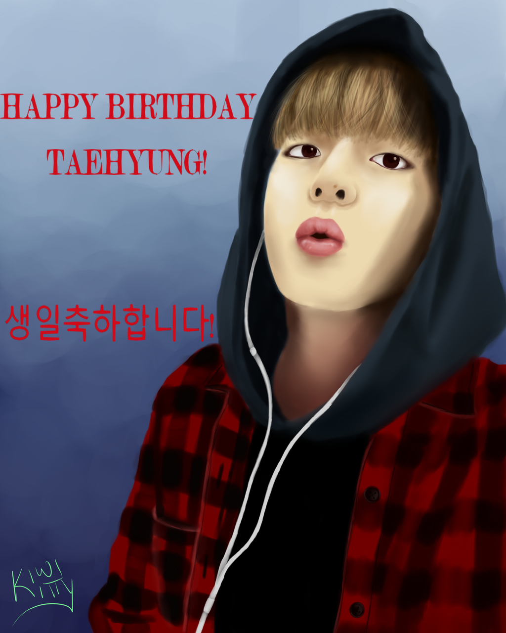 Most recent image: Happy Taehyung Day!!