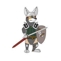 corgi knight