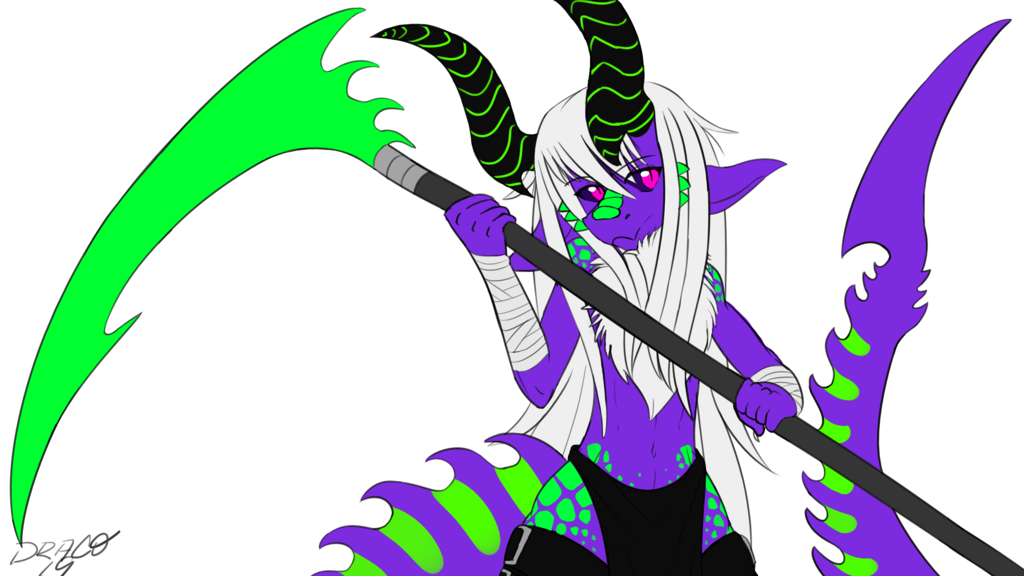 Most recent image: Scythe Wielding Dragon