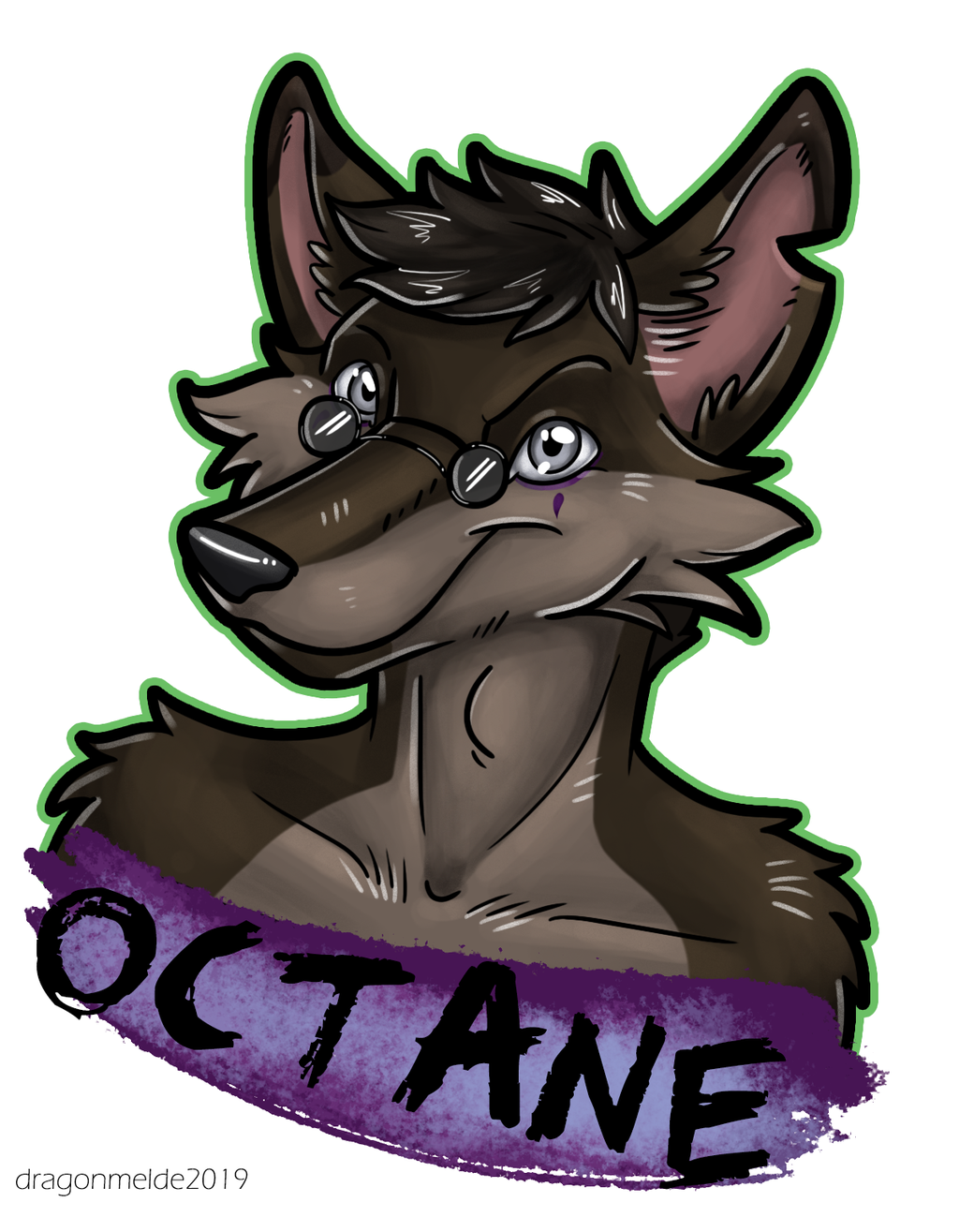 Octane Badge