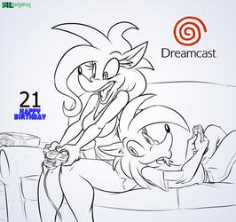 Alice Al Dreamcast 21st Birthday