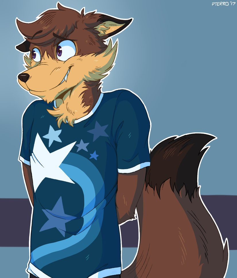 -made by: pterro- One brown Fox.