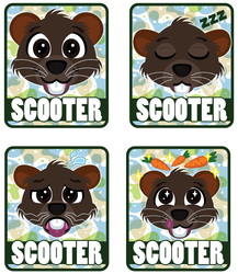 Scooter Mood Badges