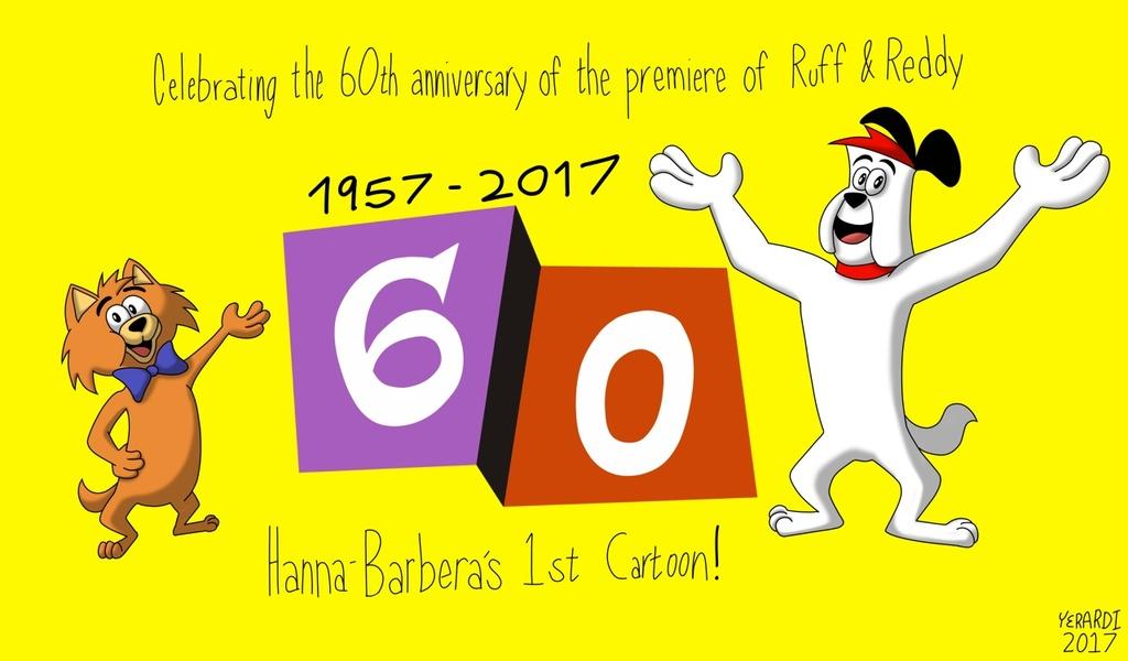 Ruff & Reddy 60th Anniversary Tribute