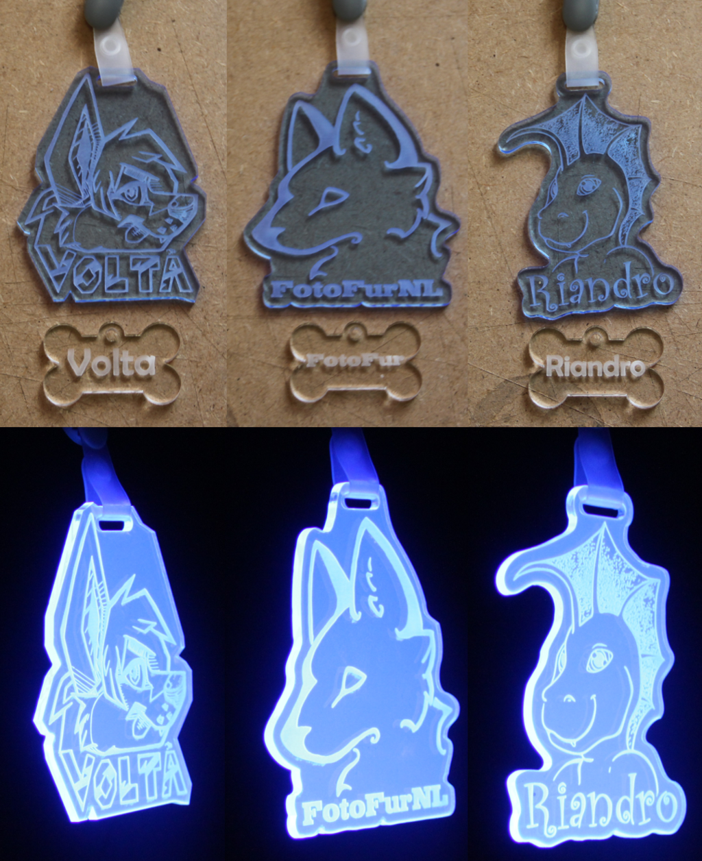 Most recent image: acrylic badges - Batch2