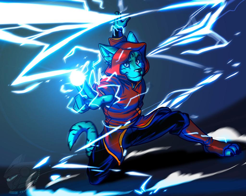 Need a Light!(Commission Art)