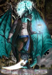 Commission - Time Bender Dragon