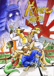 The adventures of the ninja fennec